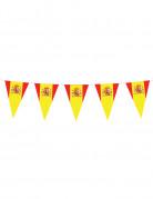 Spanien Wimpelgirlande Fanartikel rot-gelb 5m