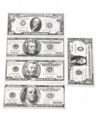Dollar-Set Dollarscheine grau-weiss