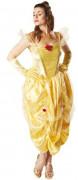 Belle Disney Prinzessinnen Märchen Damenkostüm gold