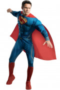 Superman Man of Steel Deluxe Kostüm Lizenzware blau-rot-gelb