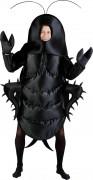 Kakerlaken-Kostüm Käfer Kostüm Unisex schwarz