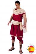 Grieche Kostüm Antike rot-creme
