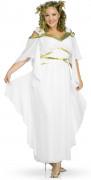 Römisches Göttinnen-Kostüm Damen weiß