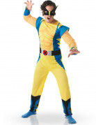 Herrenkostüm Wolverine gelb-blau