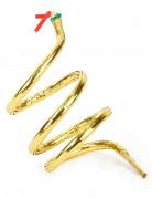 Schlangenarmband gold