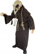 Düstere Robe Halloween-Kostüm dunkelbraun