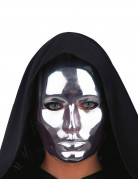 Theater-Maske für Erwachsene silber