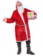 Großzügiger Weihnachtsmann Weihnachtskostüm rot-weiss