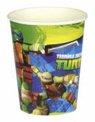 Teenage Mutant Ninja Turtles™ Partybecher Lizenzware 8 Stück bunt 266ml