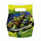 Teenage Mutant Ninja Turtles™ Geschenktüten Lizenzware 6 Stück bunt 16x23cm