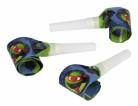 Ninja Turtles™-Tröten Comic-Mottoparty 6 Stück