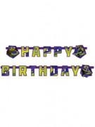 Ninja Turtles™-Geburtstagsgirlande Happy Birthday