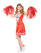 Pom-Pom-Girl - Damenkostüm - rot-weiß