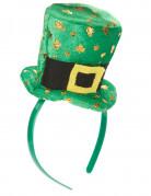 Haarreif mit Mini-Hut für Damen Saint Patrick