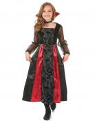 Süsse Vampirin Kinder-Kostüm schwarz-rot