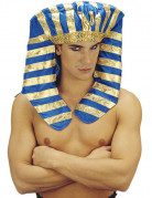 Pharao Kopfschmuck blau-gold