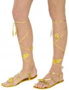 Sandalen für Erwachsene gold