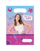 Disney™ Violetta™ Geschenktüten Lizenzware 6 Stück bunt