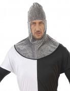Ritterhaube Kostüm-Zubehör grau