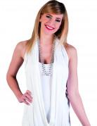 Edle Perlenkette für Damen silber