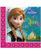 Disney Frozen Servietten Kinderparty-Deko bunt 20 Stück 33x33cm