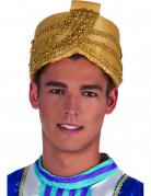 Sultan-Kappe für Erwachsene gold