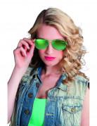 Polizei-Brille für Erwachsene grün