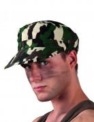 Soldaten-Mütze Kostümzubehör Militär camouflage