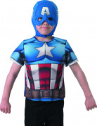 The Winter Soldier Captain America Kinder-Hemdbrust blau-weiß-rot