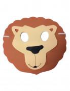 Löwenmaske für Kinder