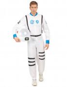 Raumfahrer Kostüm Astronaut weiss-schwarz-blau