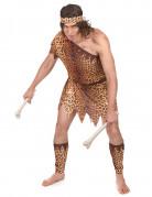 Höhlenmenschen Kostüm braun-beige
