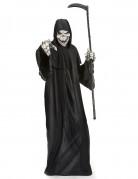 Sensenmann Halloween-Kostüm Dämon schwarz