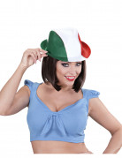 Italien-Hut Fedora Länder-Fanartikel grün-weiss-rot
