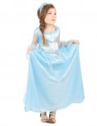 Märchenhafte Prinzessin Kinderkostüm blau