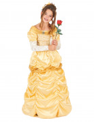 Märchen-Prinzessin Damenkostüm gold