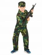 Militär-Kinderkostüm Soldaten Kostüm camouflage