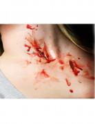 Klauen-Wunden Halloween-Tattoo 2-teilig haut-rot