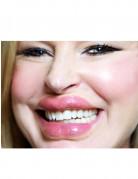 Filmdiva-Lippen Kussmund dicke Lippen rosa