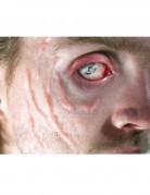 Wulstige Narben Halloween-Tattoo 5-teilig haut-rot