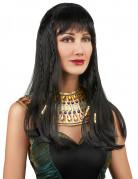 ägyptische Königin Damenperücke Kleopatra schwarz
