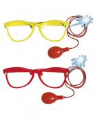 Riesen Brille spritzend rot