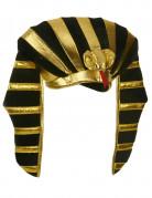 ägypter Pharao Antike Kopfbedeckung schwarz-gold