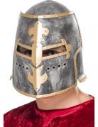Mittelalter Ritter-Helm silber