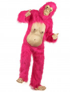 Deluxe Gorilla-Kostüm pink