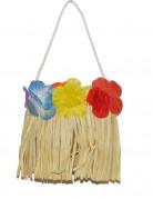 Handtasche Hawaii Kostümaccessoire Blumen bunt