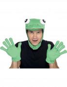 Frosch Kostümzubehör Märchen 2-teiliggrün