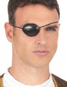 Pirat Augenklappe Kostüm-Zubehör schwarz