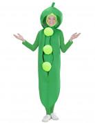 Erbsen-Outfit für Kinder grün