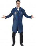 Herzog von Manor Gothic Halloween Kostüm blau-schwarz